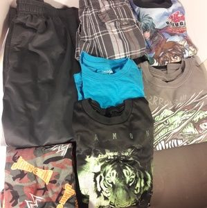 Boys Size 8 Lot of 7 Pieces Summer Fall Clothes